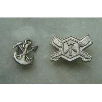 Medalha Militar Hungria Duas Ancora E Espingada 16 E 21mm