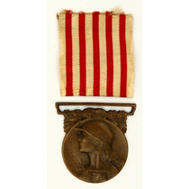 Condecoração Francesa Comemorativa Da I Guerra - Original