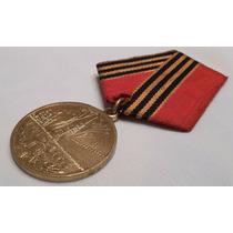 Medalha 50 Anos Da Vitória Da Grande Guerra Patriótica 45-95