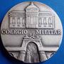 Colegio Militar-100 Anos-medalha Prata Casa Da Moeda-1989