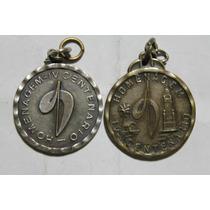 2 Medalhas Homenagem Ao Iv Centenário -veja Fotos E Detalhes