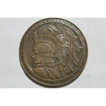 Linda Medalha - México / Brasil- Centenário Da Independência