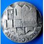 Alfredo Volpi-bela Medalha Prata 900-casa Moeda-64 Gr.-50 Mm