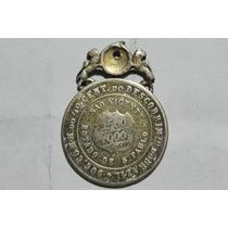 Medalha 4º Cent. Do Desc. Brasi L- São Vicente- Frete Grátis