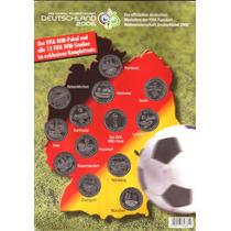 Alemanha-folder -13 Medalhas-sedes Jogos Copa 2006
