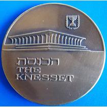 Israel-bela Medalha De Bronze-comemorativa -the Knesset
