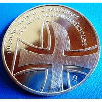 Alemanha-moeda Prata De 2015-10 Euros-comem.2015 150 Years