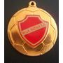 A3689 Vila Nova Futebol Clube Medalha/pingente Dourado Em Me