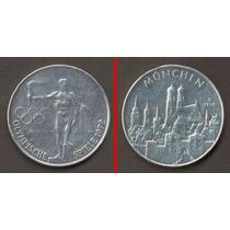 Medalha Dos Jogos Olímpicos De 1972, Prata Pura, Linda!