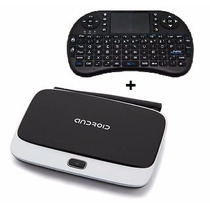 Google Tv Box Quad Core Smart Tv Hdmi Wifi +teclado Wireless