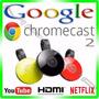 Novo Google Chromecast 2 Chrome Cast Hdmi - 1080p - Original