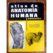 Atlas De Anatomia Humana Werner Spalteholz Vol.2 Espanhol