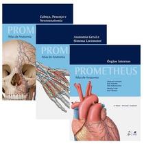 Atlas De Anatomia - Coleção Prometheus - 3 Vols