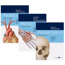 Atlas De Anatomia - Coleção Prometheus - 3 Volumes Novo