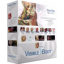 Atlas Anatomia 3d + Skeleton Premium2 3d - Visible Body®2015