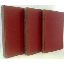 Lote 3 Livros: Psiquiatría - Tomo 1, 2 E 3 Em Espanhol(1952)