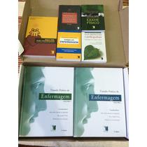 Kit Biblioteca Integrada Enfermagem Editora Yendis 8 Livros