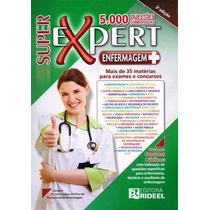 Super Expert Enfermagem 5000 Questões Última Edição Lacrado