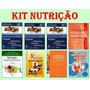 Kit Nutrição + Krause Alimentos, Nutrição 8 Livros Impressos