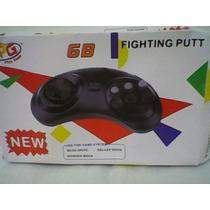 Controle Mega Drive, Master System, 6 Botões