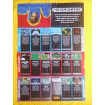 Poster Original Mega Drive - Mega Club - Coleção