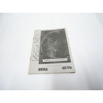 Mega Drive Manual Original Do Acessório Mega Net Nacional