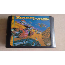 Jogo Cartucho Mega Drive Burning Force Original
