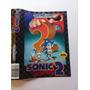 Capa Do Cartucho Sonic 2 The Hedgehog Original Genesis