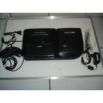 Mega Drive 3 + Sega Cd Nacional, Completos, Só Ligar/jogar