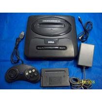 Mega Drive 3 Tectoy Entrada Sega Cd Com Rf E Jogo!