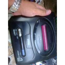 Mega Drive 2 Japones Na Caixa Com Um Controle Fonte 1 Jogo