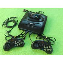 Console Videogame Mega Drive Iii Completo C/2 Manetes + Jogo