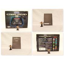 Mega Drive 2 Console Sega Na Caixa Com 2 Controles Novo