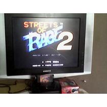 Mega Drive 3 +top Gear Sonic Streets Of Rag Street Fighte Mk