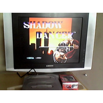 Novo Mega Drive 3 Tectoy Completo Com 60 Jogos + Brinde!