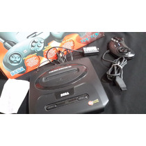 Mega Drive 3 -30 Jogos Na Memória-funcionando. Na Caixa.baix