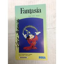 Manual Do Jogo De Mega Drive Fantasia