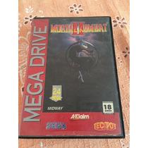 Mega Drive Caixa Vazia Mortal Kombat 2 Tectoy Apenas Caixa