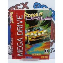 Encarte Manual Capa Jogo Mega Drive Original Power