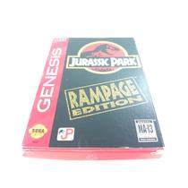 Cartucho Mega Drive\genesis Jurassic Park Rampage Edition