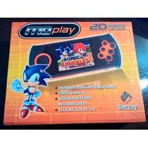 Md Play Tectoy Tec Toy Com Mais De 700 Jogos!