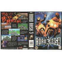 Sega Genesis - Capa - Jogo Road Rash 3