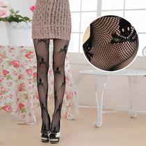 Meia Calça Arrastão_caveiras_ultra Fashion_j.rock_emo_lolita