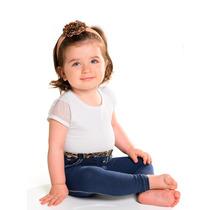 Meia Calça Jeans Bebê Meia Calça Grossa Bebê 00 Á 5 Meses