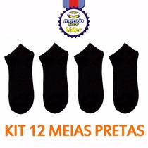 Kit 12 Pares Meia Masculina Soquete Preço Atacado M3