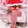 Meias Listradas 5/8_moda J.rock,lolita,nana,cosplay,fantasia