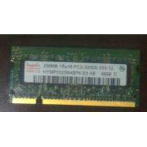 Memória Notebook 256mb Pc2 - 3200s - 333 - 12 - Ddr2 533mhz