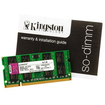 Memoria Kingston Notebook Ddr2 1gb 667/800mhz - Frete Gratis