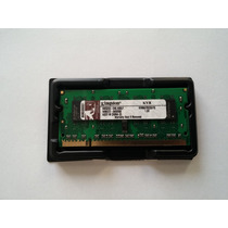 Memória Notebook Kingston 1gb 667mhz Ddr2 - Kvr667d2s5/1g