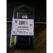 Memoria 4gb Ddr3 Note 1333mhz Pc3-10600 Kingston